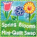 Spring Blooms Mini Quilt Swap