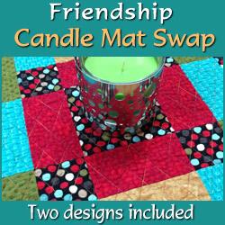 Friendship Candle Mat Swap