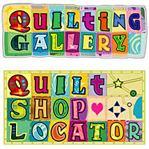 Quilting Gallery and Quilt Shop Locator