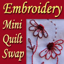 Embroidery Mini Quilt Swap