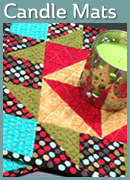 Friendship Candle Mats