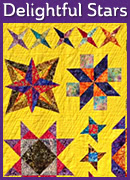 Delightful Stars – Learn to Quilt Booklet