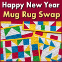 Happy New Year Mug Rug Swap