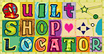 Quilting Shop Locator Logo