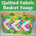 Quilted Fabric Basket Swap