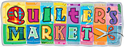 Quilter's Market Logo