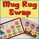 Springtime Flowers Mug Rug Swap