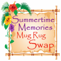 Summertime Memories Mug Rug Swap