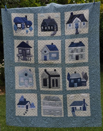 1000 images about quilts houses barns schoolhouses for House pattern