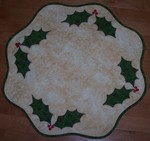 Holly Table Topper