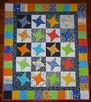 BRIGHTS BABY QUILT