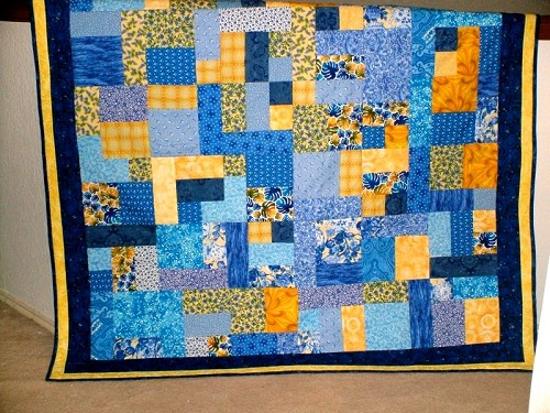 Free Quilt Pattern For Yellow Brick Road : Scrappy Quilts - Quilting Gallery /Quilting Gallery