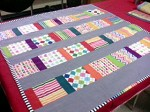 The Charming Rainbow Quilt