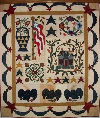 Happy Canada Day & Patriotic Quilts - Quilting Gallery /Quilting ... : old glory quilt - Adamdwight.com