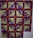 Just that my ugly quilt test