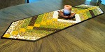 Autumn French Braid Table Runner