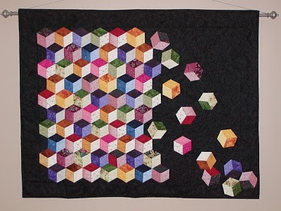 Tumbling Block Quilt #2 | Quilts | Pinterest