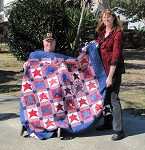 Quilt of Valor for Tom