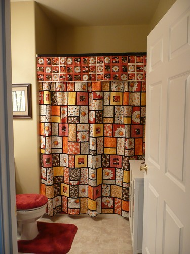 Daisy Delight Shower Curtain Vote Now New Beginnings Quilt Contest Quilting Gallery