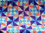 Mystery night quilt - ugly fabric combination