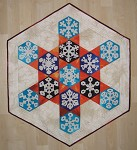 Snowflakes are hexagonal
