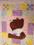 Original Quilt with Winnie the Pooh