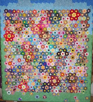 Hexagons And Other English Paper Pieced Quilts Quilting Gallery