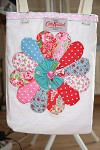 Cath Kidston Dresden Plate Tote Bag My Way