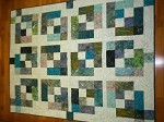 Teal Fat Quarter Project