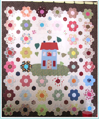 Dresden Plate Quilt Pattern With History of This Free Block