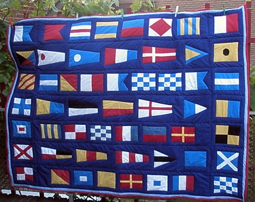 signal flags for our boat