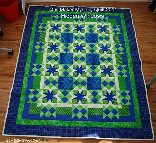 Secret Window Mystery Quilt