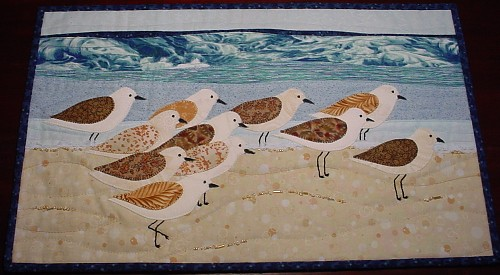 Sandpipers at the Shore