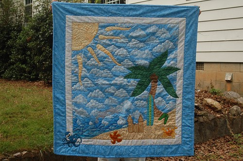 Beach & Seashore Quilts - Quilting Gallery /Quilting Gallery : beach themed quilt patterns - Adamdwight.com