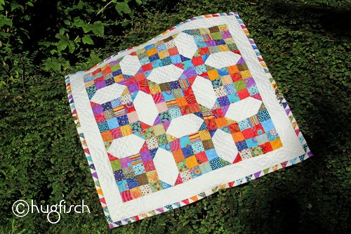 Gaby's Quilt - Colored Scrapps
