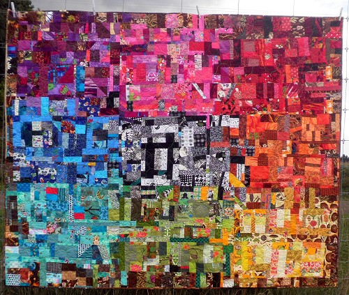 Amazing Technicolor Dream Quilt