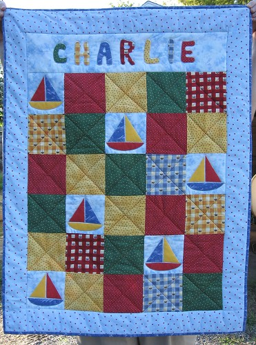 Quilt for Charlie