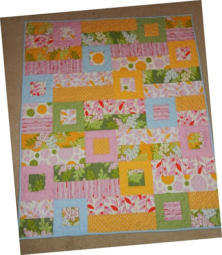 New Baby Girl Quilt