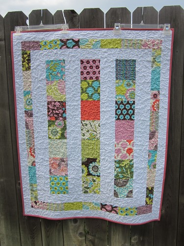 Baby Marcy's Line Dance Quilt