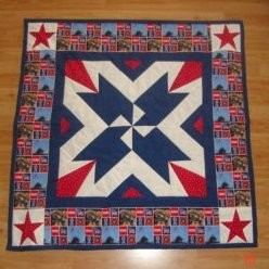 Honouring Veterans Quilt Quilting Gallery