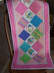 Quilted Easter Egg Tablerunner