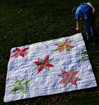 Big Star Christmas Quilt