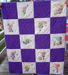 Kayna's Bed Quilt