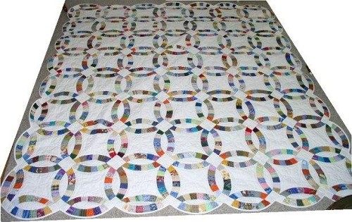 wedding ring quilt for sale - Wedding Ring Quilts For Sale