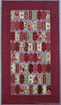 English Paper Pieced Table Runner