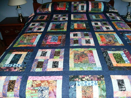 Quilt Patterns Using Squares And Rectangles : Quilts with Just Squares and Rectangles - Quilting Gallery /Quilting Gallery