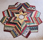Country Strings Christmas Tree Skirt