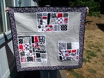 First Sight Mod Mosaic Baby Quilt