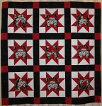 Nyx's Goth Baby Quilt