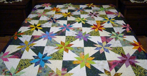 Scrappy Star Quilts - Quilting Gallery /Quilting Gallery : free hunters star quilt pattern - Adamdwight.com
